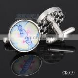 2014 Luxury Crystal cufflinks custom crystal cufflink butterfly cufflinks