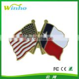 Winho Metal American National Flag Pin Badge
