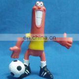 PVC bendable figure toys
