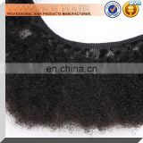 Yotchoi 6A grade Afro curly virgin hair weft mongolian