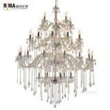 Rima Lighting 36-light Hotel Chandelier Luxury Modern Chandelier for High Ceilings