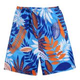 beach shorts       Summer men's quick-drying swimwear breathable shorts running custom beach
