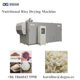 Regenerated Rice Puffed Poha Rice Food Snacks Twin Screw Extruder Drying Equipment Plant by DG Machinery