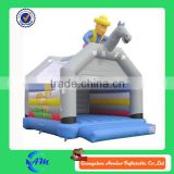 riding horse man inflatable bouncer