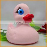Colorful rubber floating duck toy for promotional gifts