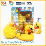 Baby Cartoon Plastic Bathroom accessories set