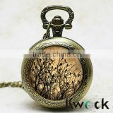 Chinese Antique Style and Not Specified Case Material fashion enamal pocket watch