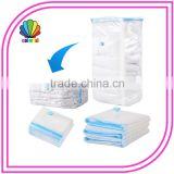 PA+PE PET+PE Material Bedding Use cube vacuum bag ,vacuum bags storage for bedding and clothes
