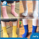 Solid color child tube sock high quality kid cotton sock                                                                         Quality Choice