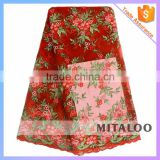 Mitaloo New Design African Tulle Lace Fabric Embroidery Net Lace For Wedding Dress MFL1170