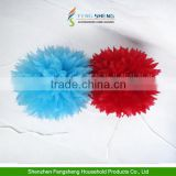 "10"" Tissue Paper Pompoms Flowers Ball Wedding Table BabyShower Decoration"