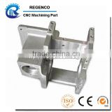 Precision CNC machining part, made of aluminum 6061-T6, clear anodized