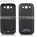 Hot sell external back battery case for Samsung galaxy S3 3200mAh