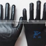 Safety Working 1/2 dipped Nitrile Gloves from China Factory