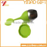 High quality Silicone Stainless Steel tea infusers, potted plant tea strainer                                                                         Quality Choice
