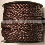 Braided Flat Leather Cord Manufacturer Bolo