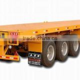 20-48ft / 2 or 3 axles widely used high flat bed container trailer for sale (skeleton optional) for Angola\Congo