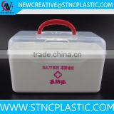 household plastic first aid kit box with portable handle                                                                                                         Supplier's Choice
