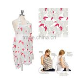 new arrival print 100% cotton baby nursing cover