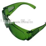 2016 wide frame eye protective fasionable side shield eye protective glasses with CE standard safety glasses