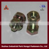 High Quality Carbon Steel Galvanized Hex Bolt And Nut Cap