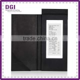 restaurant used pu leather bill holder / bill book with magnetic clip