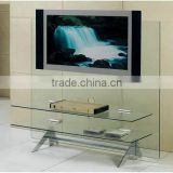Tempered glass plasma TV stands with AS/NZS2208:1996, BS6206, EN12150 certificate