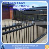 garden fence/ outdoor retractable fence/ ornamental double loop wire fence