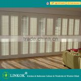 Wholesale cheapest wood blinds high quality Flame Retardant window blinds