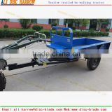 The single axle trailer for walking tractor 2016 HOT SALE                                                                         Quality Choice