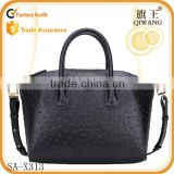 ostrich pattern tote bag spring new handbag leather bag women 2015                                                                         Quality Choice