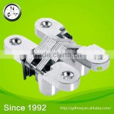 At logistic centerchrome/ gold plated stainless steel invisible hinge for jewelry box or door