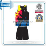 sublimation youth high school basketball uniforms