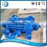 Multistage stage high head abrasion resistant stainless steel slurry pump