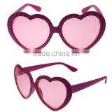 Fashional girl Red heart Sunglasses, Party eye glasses, Eye glassess with customized shape