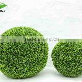 Home artificial grass ball for decoration, high quality reasonable ornamental artificial ball