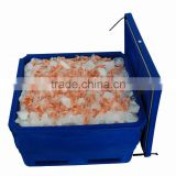 SCC 600L freezer seafood container for transportation