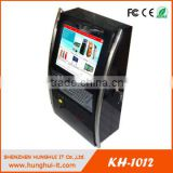 Webcam Wall Mounted Advertising Kiosk Payment With Motor Chip Card Reader