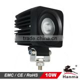 4x4 offroad 10W CREE LED work light, truck, trailer, tractor,boat,mining, adjusted to 20W30W ..SPOT beam,IP67,HML-1310