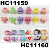 wholesale assorted baby mini snap plastic hair clips