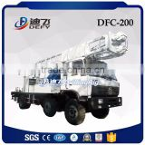 200m Dfc-200 China Factory Truck Mounted Rotary used Water Well Drilling Machine Price for sale
