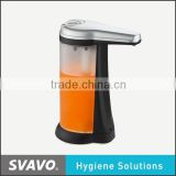 ABS plastic wall mounted foam soap dispenser with hotel bathroom black plastic wall mounted 400ml foam soap dispenser V-472