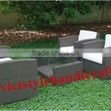 POLY RATTAN OUTDOOR /GARDEN SET FURNITURE WITH DISCOUNT PRICE