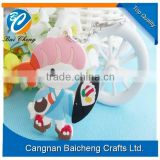 soft pvc rubber keychain with cute look offers top quality and competitive price/ supplies custom logo and design