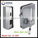 Wholesale glass door lock for hotel use . hotel door lock G-304