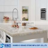 artificial table quartz countertop white sparkle quartz stone countertop