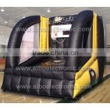 IP0018 inflatable sports games for children shoot at basket ball
