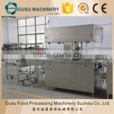 CE certificate chocolate coating machine for cake, biscuits, candy, bakery