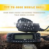 Professional Quad Band mobile radio TYT TH-9800 Automotive Radio 29/50/144/430MHz Quad bands Mobile Transceiver