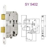 5402 Stainless steel door lock safe lock euro profile cylinder lock pick in suzhou jiangsu